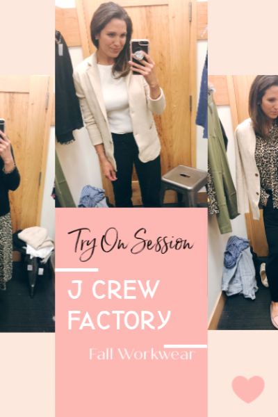J Crew Factory Fall 2019 Workwear Try On