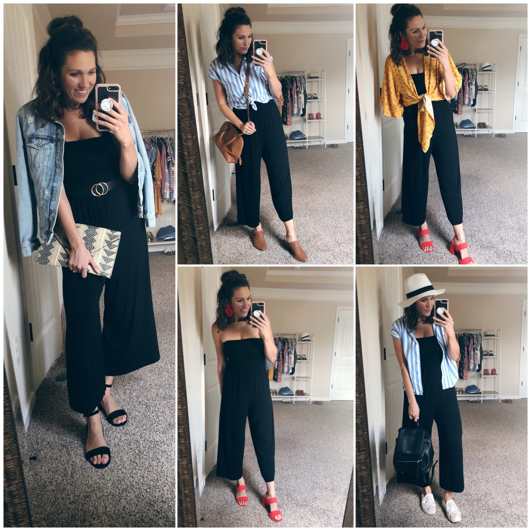 Loft Jumpsuit 5 Ways