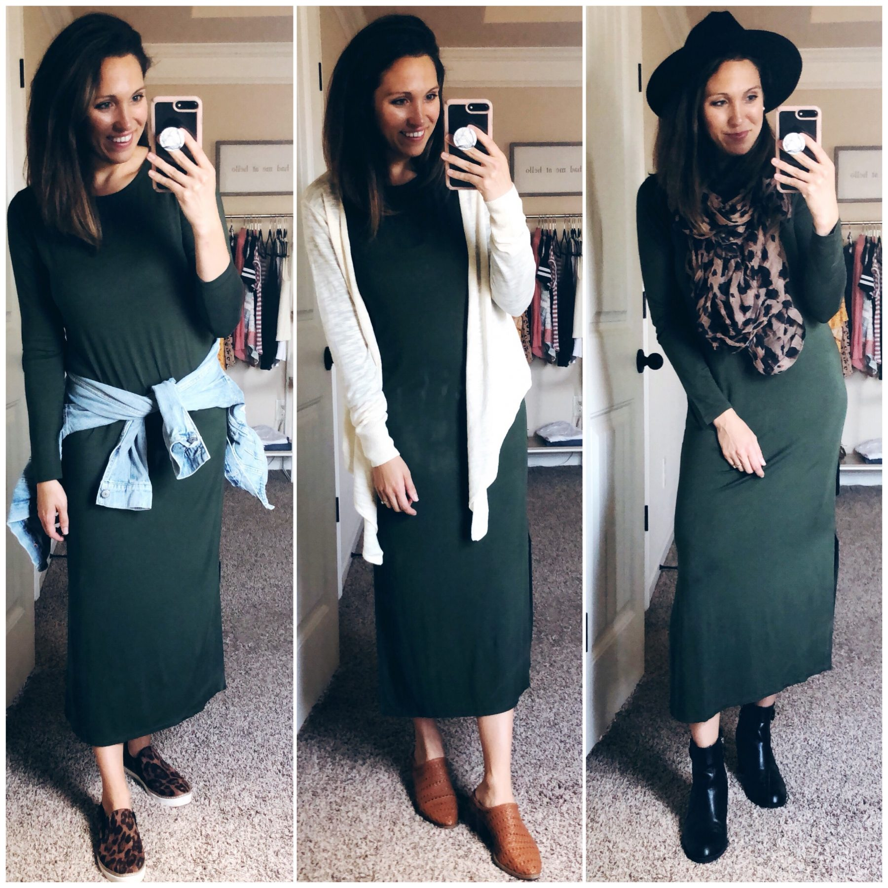Super Affordable Fall Maxi Dress