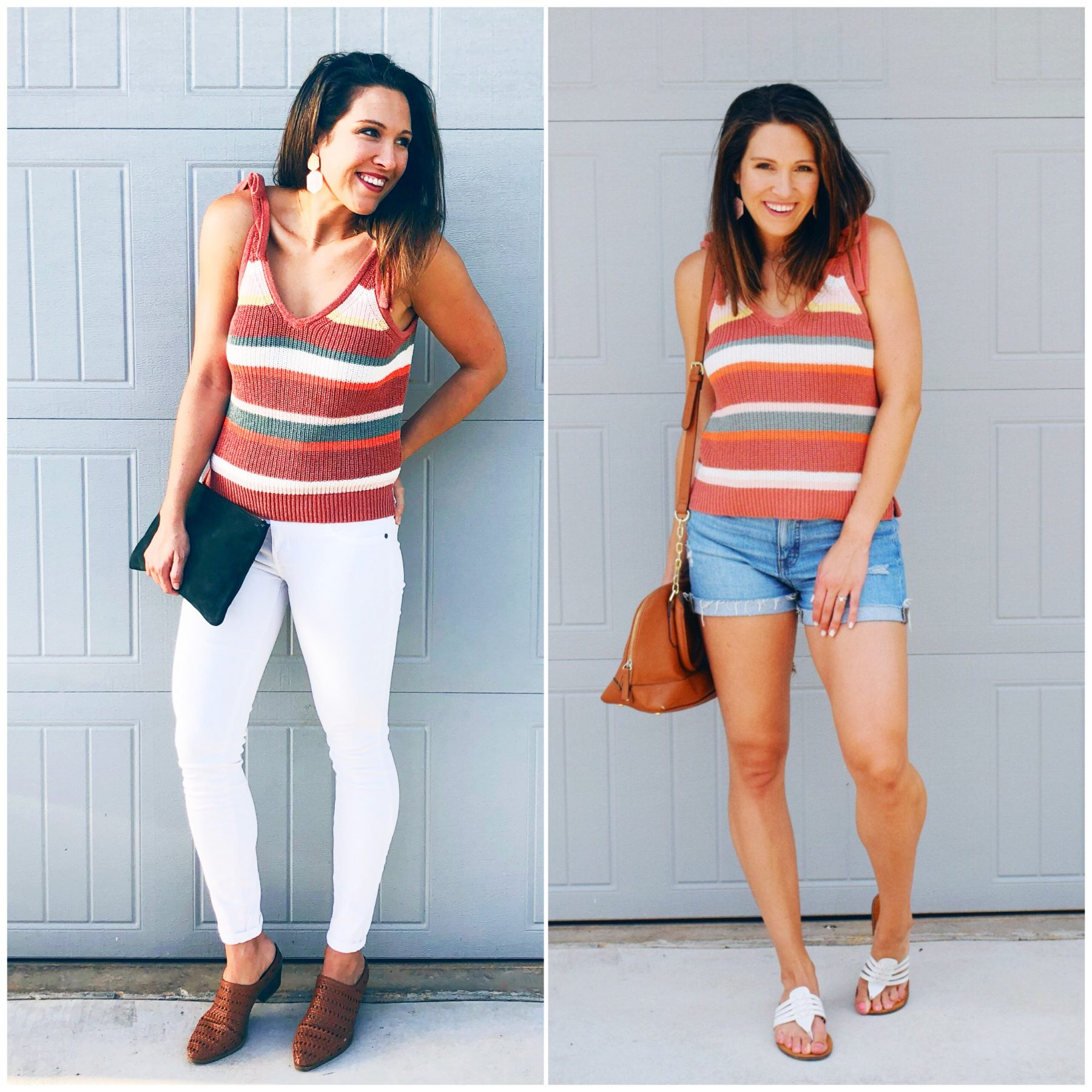 Madewell Sweater Tank 2 Ways