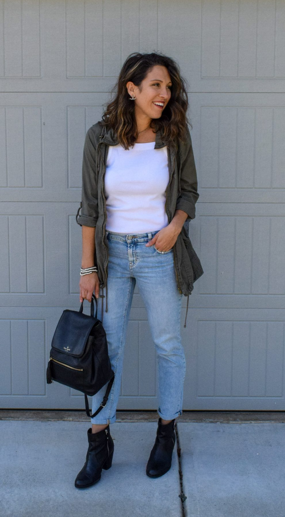 Boyfriend Jeans Styled 3 Ways