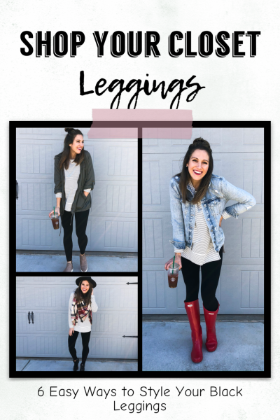 6 Easy Ways to Style Black Leggings