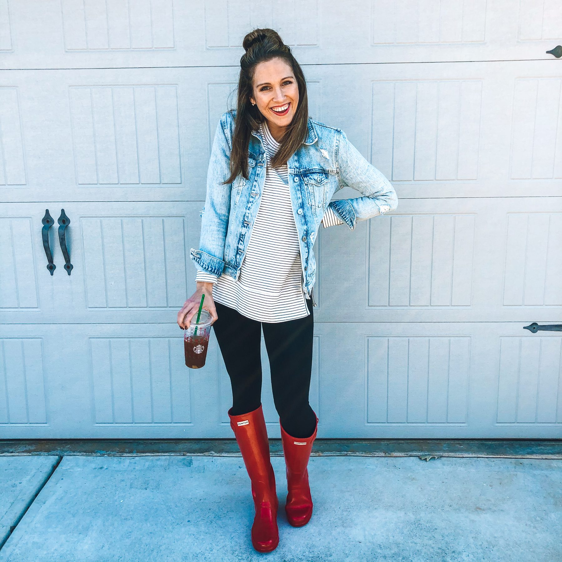 Red Hunter Boots Styled Easy Ways