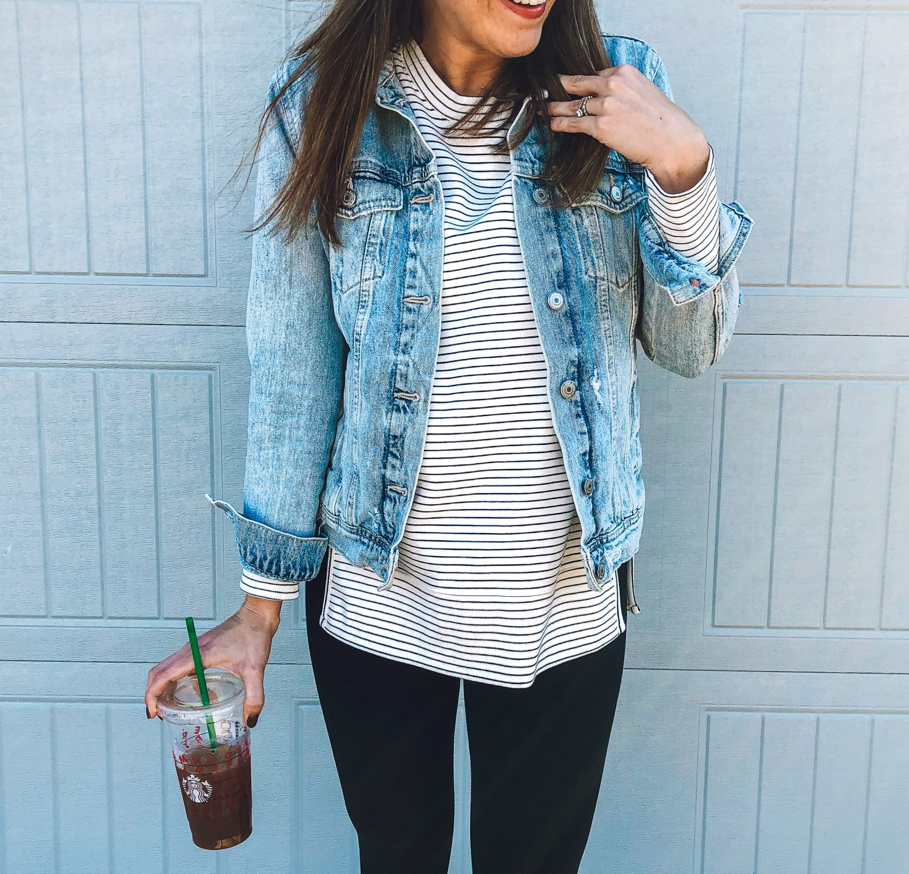 Old Navy Denim Jacket Styled 3 Easy Ways