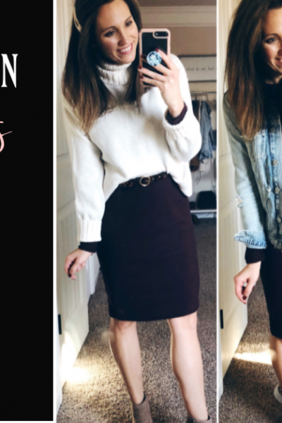 Sweater Dress Styled 4 Ways