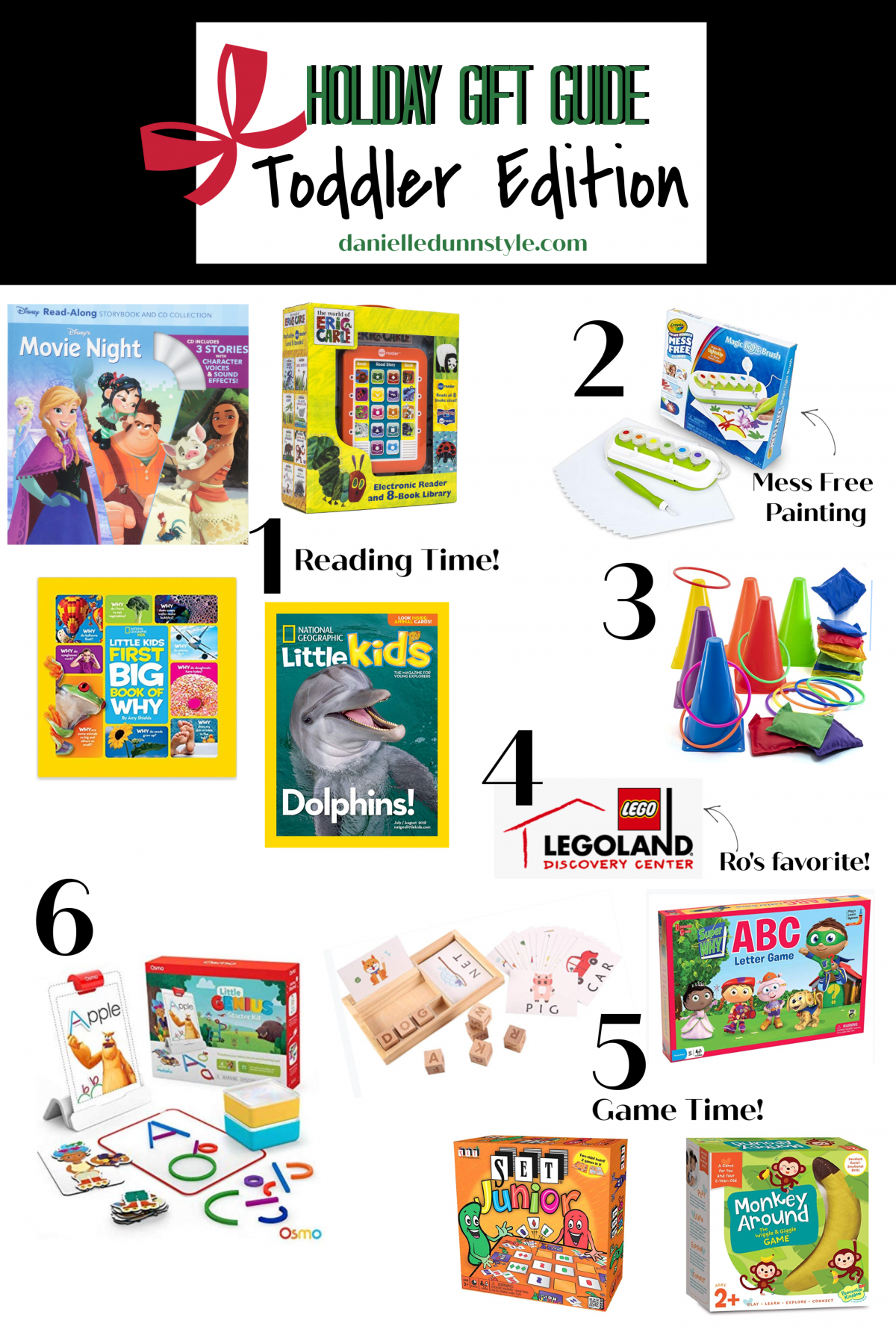 Toddler Educational Gift Guide