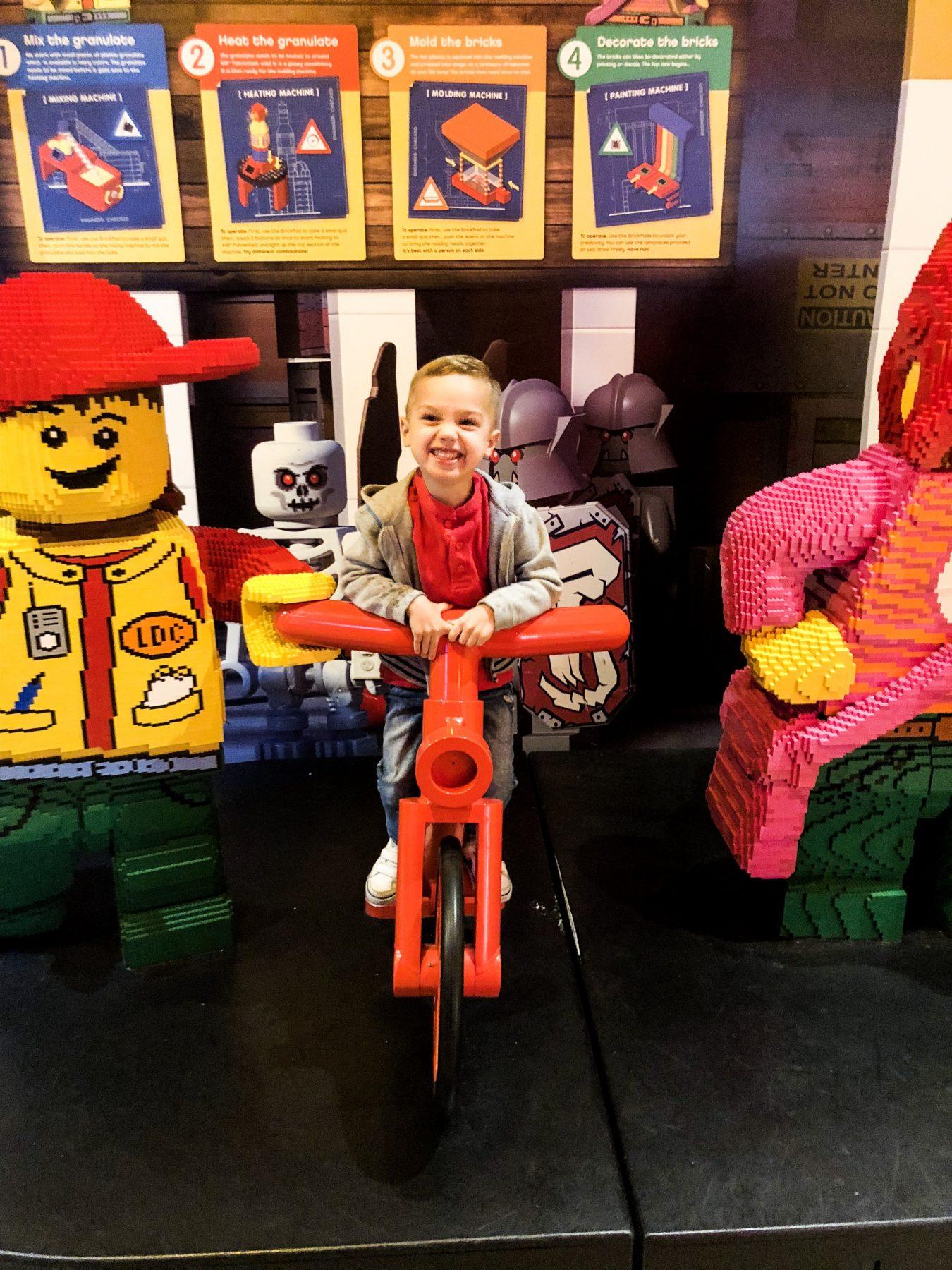 Favorite local spot: Legoland Discovery Center Atlanta