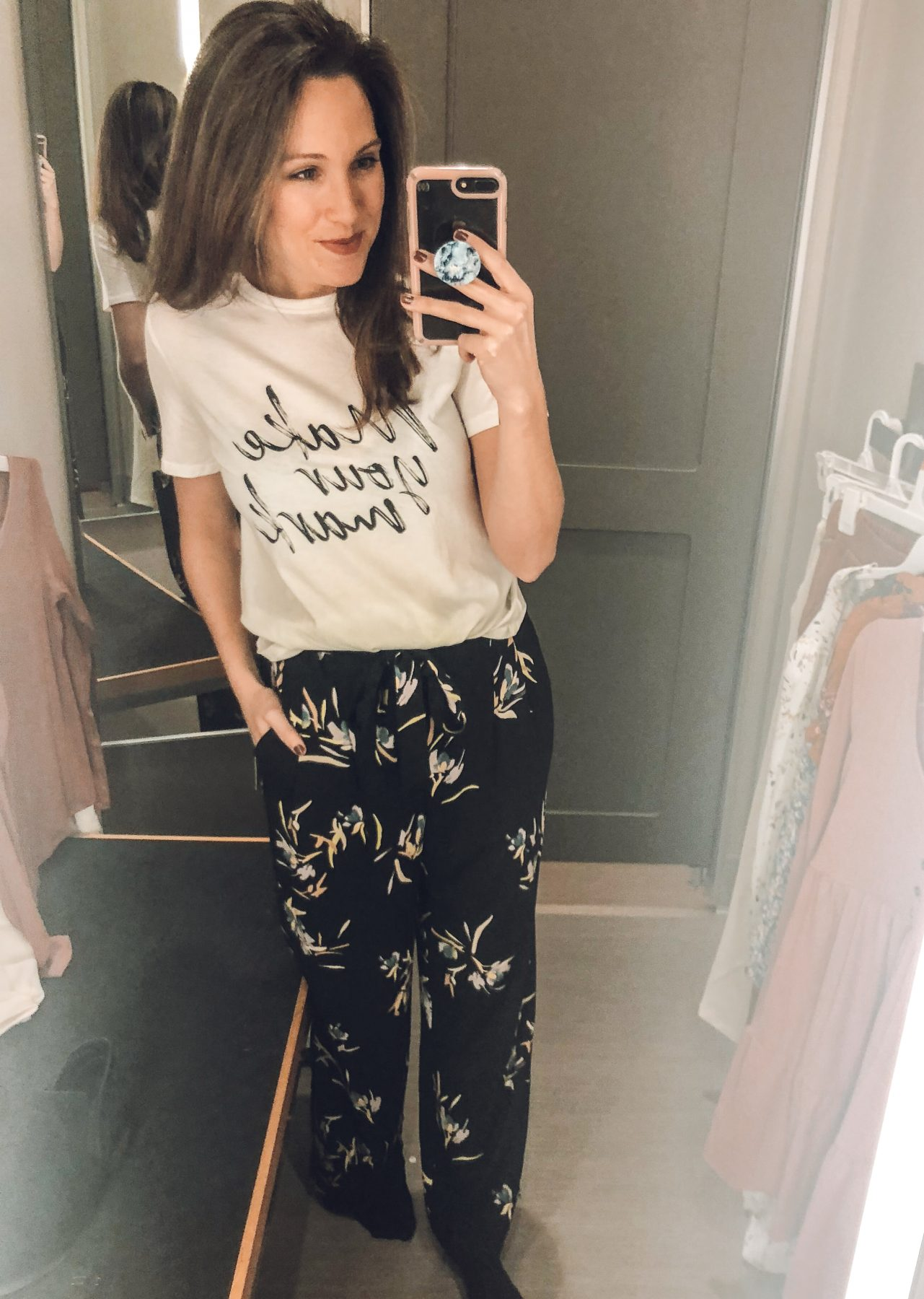 Target Try On Wide Leg Paper Bag Pants
