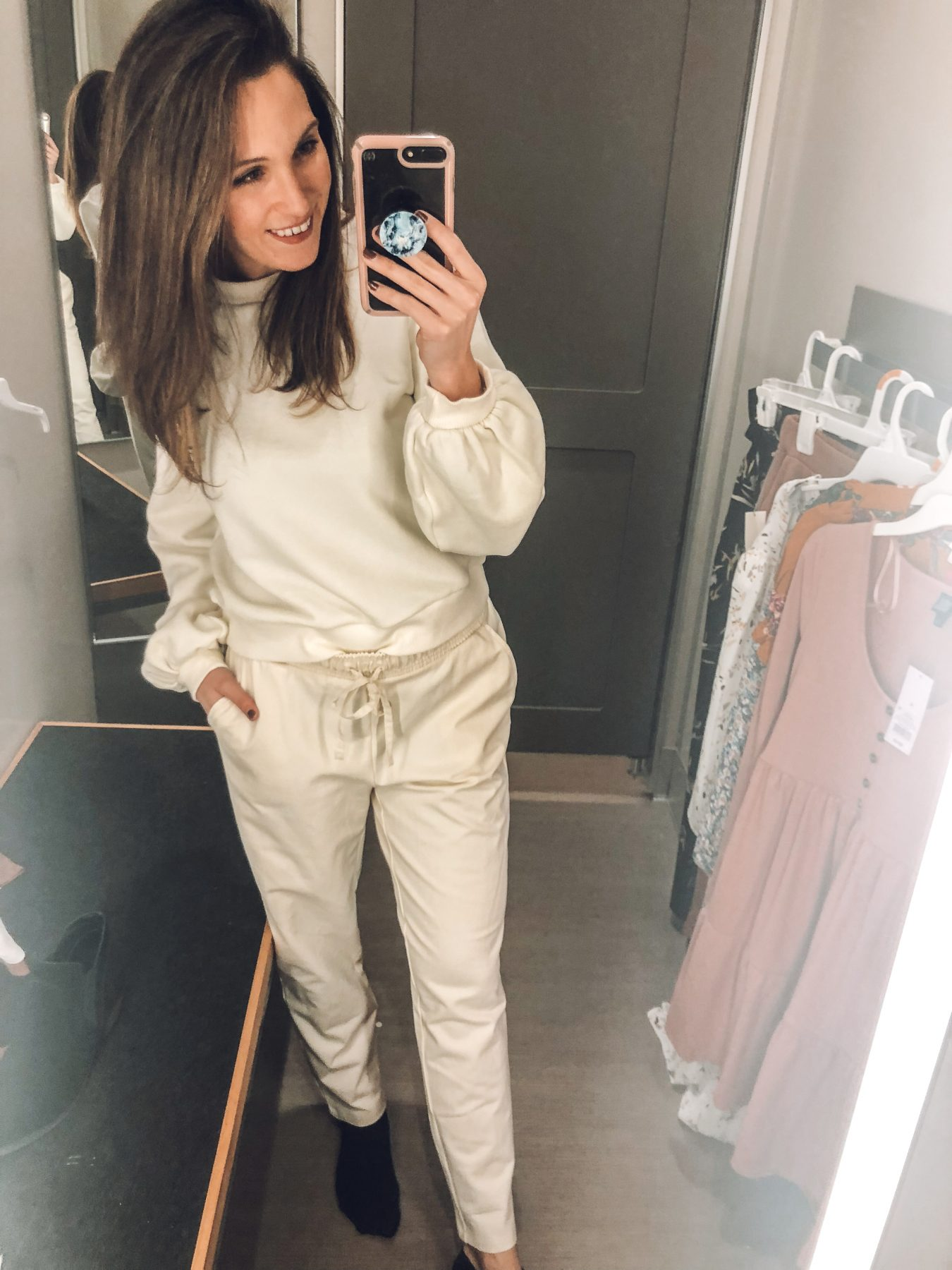 Cozy Winter White Outfit Target Try-On