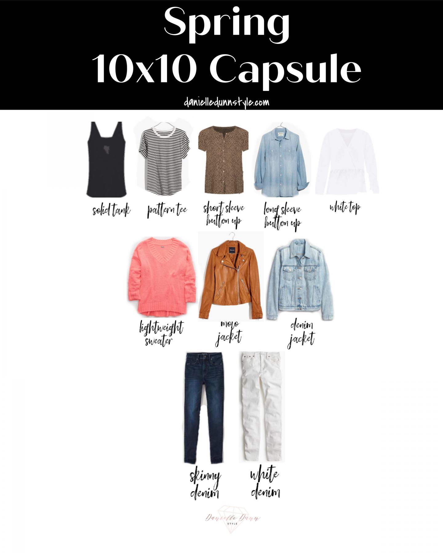 2020 10 Piece Spring Capsule